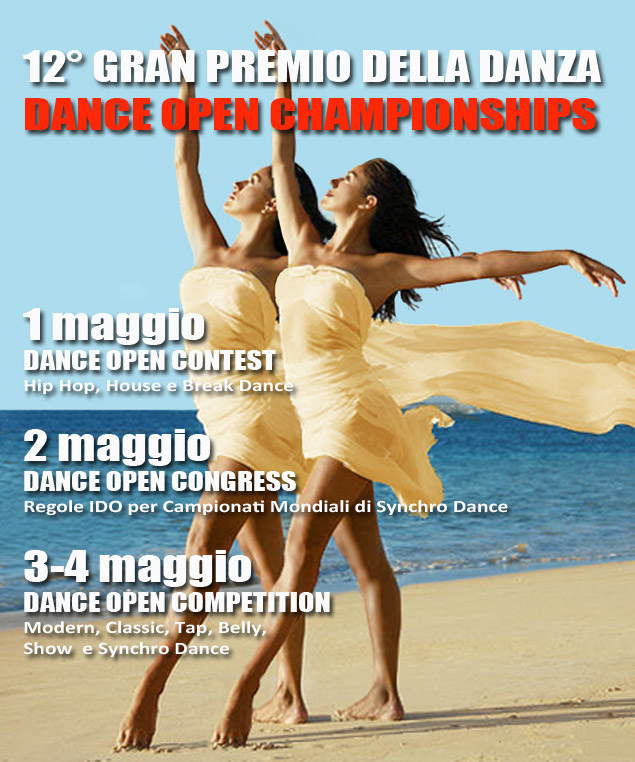 I RISULTATI del Gran Premio della Danza 2014