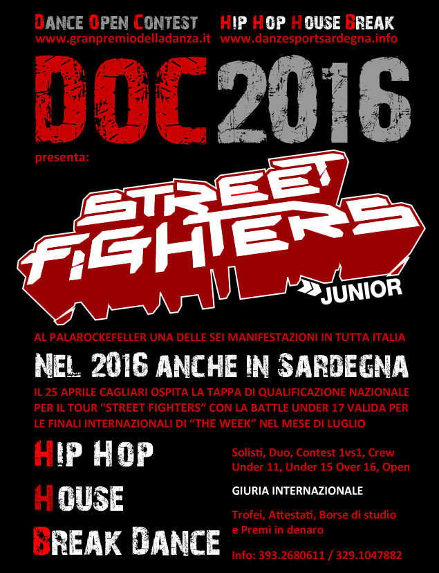 25 aprile 2016 – Hip Hop, House e Break Dance