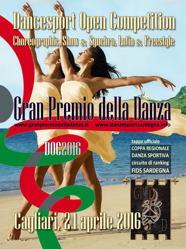 24 aprile 2016 – Gran Premio di Danza Sportiva