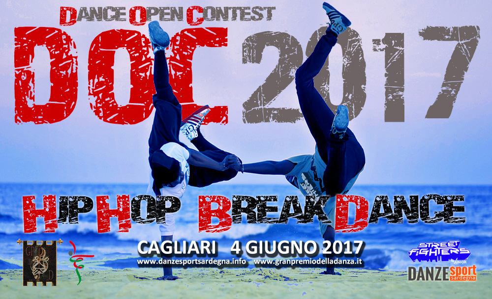 4 giugno 2017, Dance Open Contest di HIP HOP e BREAK DANCE