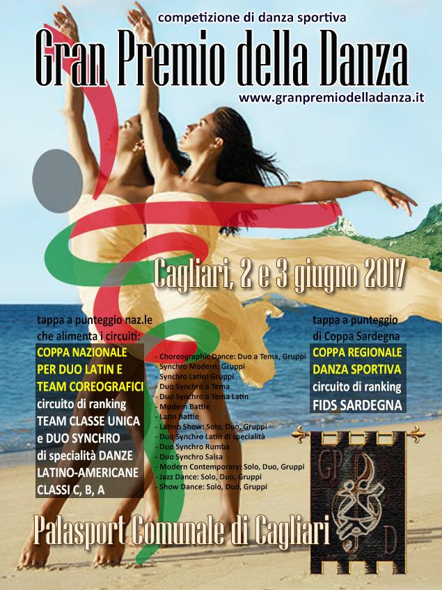 2/3 giugno 2017. Danze Coreografiche e Duo Latin. ISCRITTI e ORARI DANZA SPORTIVA