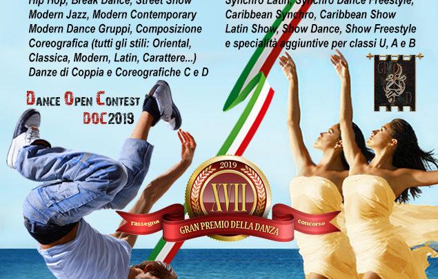 RISULTATI del XVII Gran Premio della Danza e del Dance Open Contest 2019